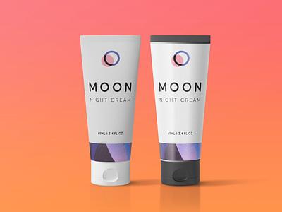 Night Cream Branding Mockup logo illustration design download mock-ups mockup psd download mock-up download mockup mockups psd mockup branding cream night