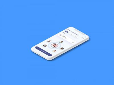 Free Prime Mobile App Presentation Mockup logo design illustration mockups psd mockup presentation app mobile prime free