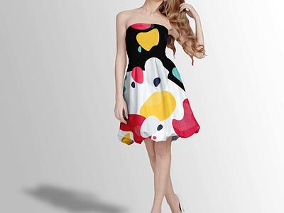 Off Shoulder Mini Dress Mockup illustration mockups branding 3d animation ui design logo psd mock up mockup dress mini off shoulder