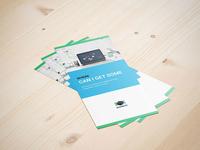 Business Creative Team Psd Tri Fold Brochure Template