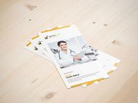 Dental Checkup Psd Tri Fold Brochure Template