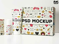 Free All Pouch Presentation Mockup