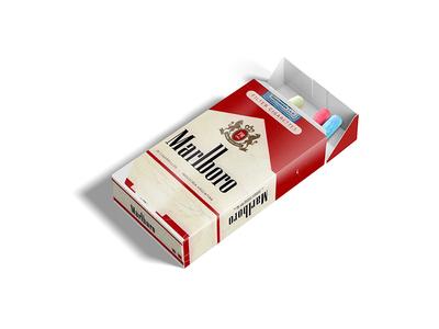 Cigarette Box Packaging Label Mockup psd template psd templates download psd download 2018 download psd