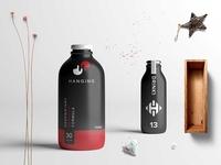 Premium New Milk Bottles Scene Mockup