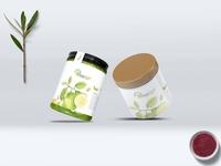 New Jars Bottle Label Presentation Mockup