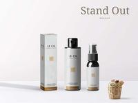 New Premium Stand Bottle Mockup