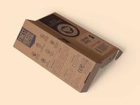 Free Stationery Box Psd Mockup