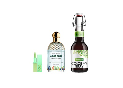 Premium Beer Shampoo Bottle Presentation Mockup 2019