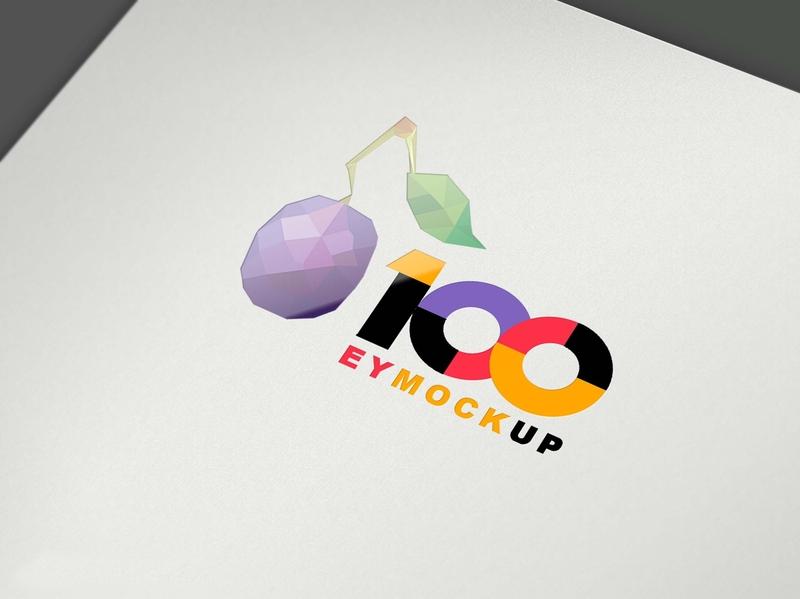 Free Spot UV Logo Mockup psd mockups mockup psd download mock-up mockup download mock-ups download mockup