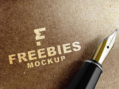 Famous 3D Logo Mockup 2021 3d logo illustration download mock-ups download mockups mockup psd