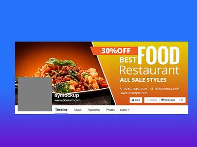 Free Food Facebook Cover Design facebook cover food premium download mock-ups free download psd psd download mockup mockups