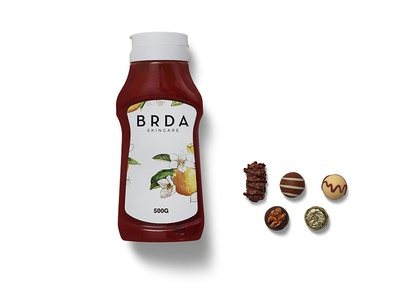 Ketchup Bottle Label Mockup psd template psd templates download psd download 2018 download psd