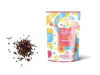 Colorful Sweet Pouch Label Mockup