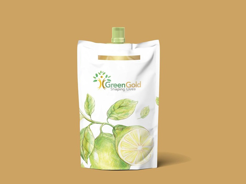Green Oil Pouch Label Mockup psd template psd templates download psd download 2018 download psd