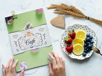 Creative New Ice Cream Parlour Menu Template