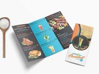 Premium Chinese Restaurant Tri Fold Menu Template