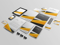 Free Company Stationery Branding Mockup