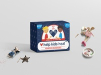 Matte Kraft Paper Box Mockup