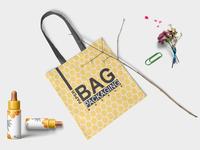 New Tote Bag Label Mock Up