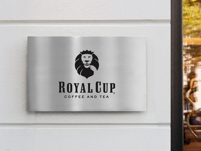 Free Plain Company Door Sign Mockup