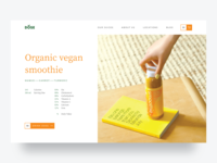 Dose Juice – Concept Product Page