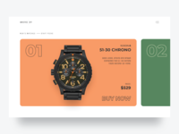 Watch Store Concept ⌚