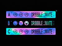 3 x Dribbble Invites Available ✹✹✹