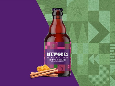 Beeworks Honey & Cinnamon Sparkling Mead