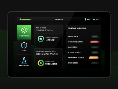 HMI Interface for Car Dashboard car dashboard dashboard design ui ux android app ui  ux ux design ui  ux design