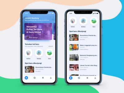 GoBandung App Concept