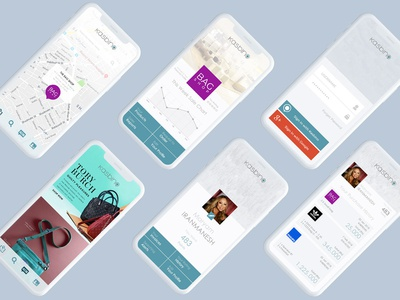 Kasbino inner pages ui/ux design innerpages map business android ios app location ux ui