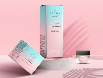 Lotus Cosmetics Endorphin Active cosmetics packagingdesign graphicdesign printdesign branding design