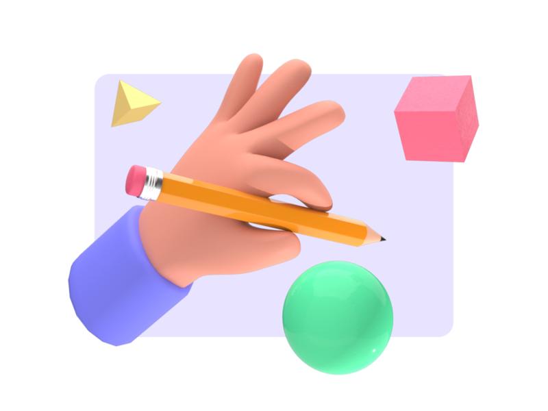 Mini 3D Stuff Series illustration arnold cinema4d 3d design