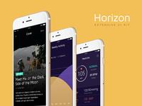 Horizon: Mobile UI Kit