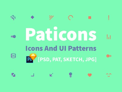 Icons And UI Patterns ux ui background vector seamless pattern icon sketch psd freebie free pixelbuddha
