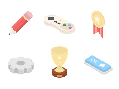Random Isometric Icons