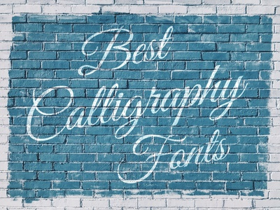 Best calligraphy fonts to help you stand out