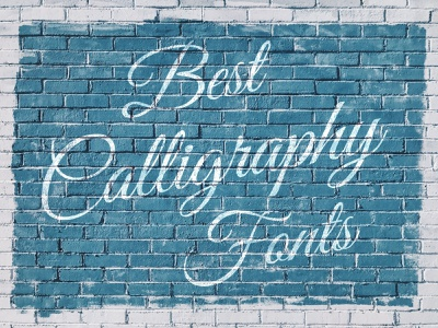 Best calligraphy fonts to help you stand out marker brush svg monoline script download freebie free typography calligraphy typeface font the designest