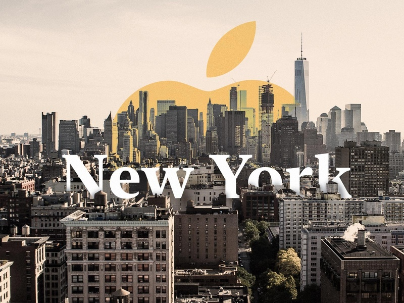 Apple introduces New York font urban city dawn serif typeface download free font post article blog design new york apple typography collage digital loonyvoyager