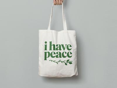 i have peace 🌱
