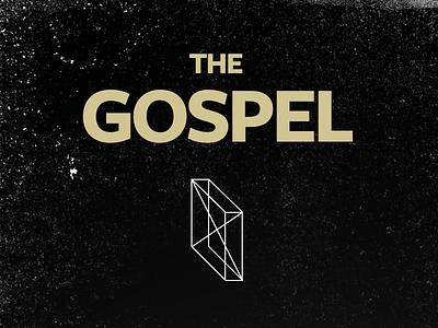 The Gospel god jesus christianity gospel bible gold box black freight sans