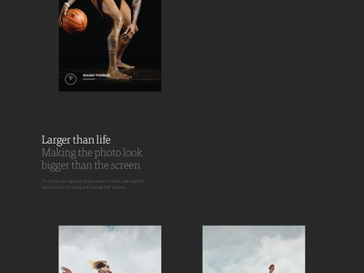 Espn The Body Issue - Case Study motion espn photography branding ux ui layout website case study