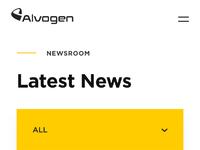 Mobile   news dropdown