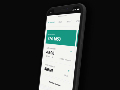 Nova App - Refill payment design app mobile motion checkout refill interaction animation ux ui