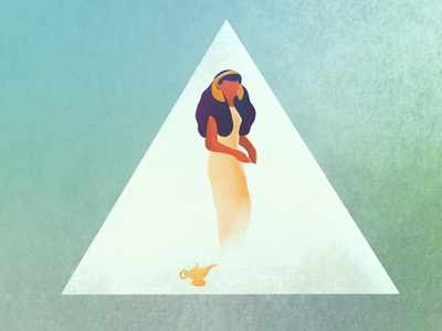 You got three free wishes today piramid egyptiangodess djin