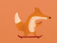 Sly Fox stole my Skateboard