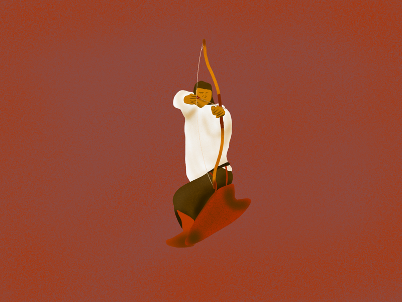 Aim for the Experience practice figuredrawing archer