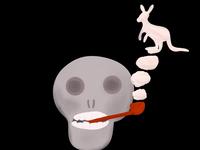Smoking Skippy