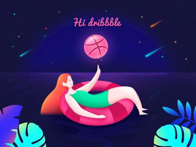 Hi Dribbble ~