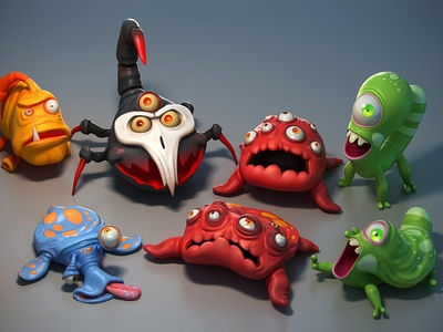 Micro Smash Monsters